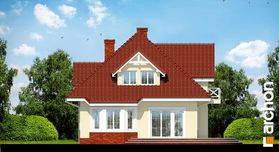 Elewacja boczna projekt dom w lubczyku ver 2  266