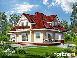 Projekt dom w lubczyku ver 2  260lo