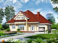 projekt Dom w lubczyku widok 1