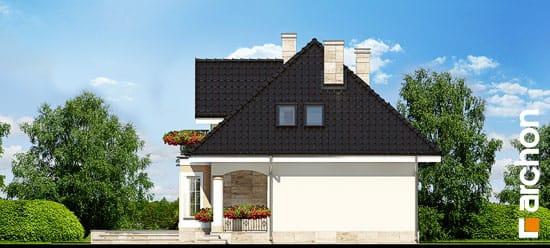 Elewacja boczna projekt dom w awokado ver 2  266