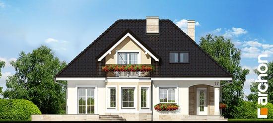 Elewacja frontowa projekt dom w awokado ver 2  264