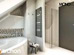 projekt Dom w awokado Wizualizacja łazienki (wizualizacja 1 widok 3)