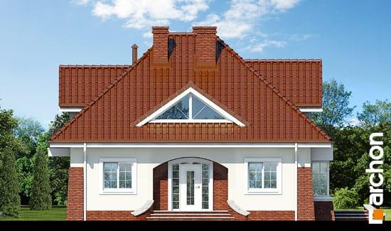 Elewacja frontowa projekt dom w koniczynce ver 2  264