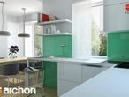 projekt Dom w koniczynce Aranżacja kuchni 1 widok 3