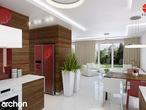 projekt Dom w werbenach (N) Aranżacja kuchni 1 widok 3