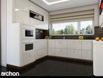 projekt Dom w werbenach (N) Aranżacja kuchni 2 widok 2