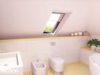projekt Dom w werbenach (N) Wizualizacja łazienki (wizualizacja 3 widok 1)