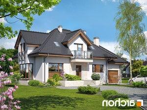 projekt Dom w werbenach (N) lustrzane odbicie 1