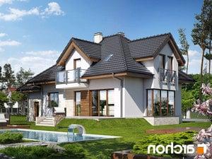 projekt Dom w werbenach (N) lustrzane odbicie 2