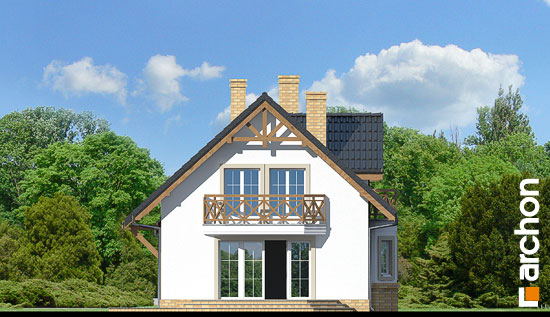 Elewacja boczna projekt dom w ananasach 2 ver 2  266