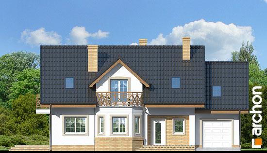 Elewacja frontowa projekt dom w ananasach 2 ver 2  264