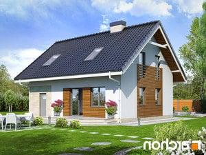 projekt Dom w borówkach 2 lustrzane odbicie 2