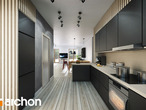 projekt Dom w akebiach 2 Wizualizacja kuchni 1 widok 1