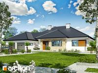 projekt Dom w akebiach 2 widok 1