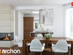 projekt Dom w nektarynkach 2 Aranżacja kuchni 1 widok 1