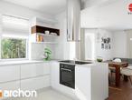 projekt Dom w nektarynkach 2 Aranżacja kuchni 1 widok 3