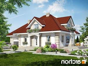 Projekt dom w nektarynkach 2 ver 2  252lo