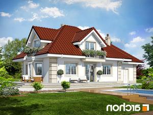 Projekt dom w nektarynkach 2 ver 2  260lo
