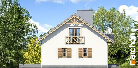 Elewacja boczna projekt dom miniaturka ver 2  266