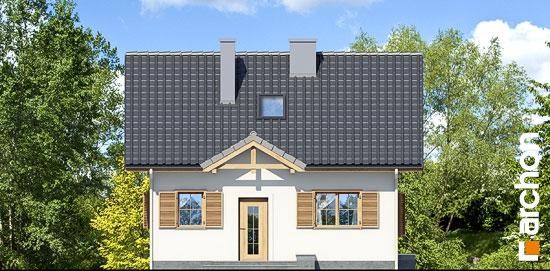 Elewacja frontowa projekt dom miniaturka ver 2  264