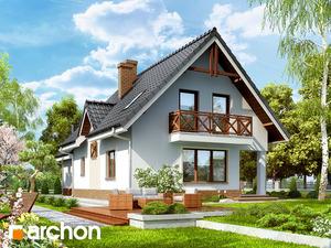 projekt Dom w żurawinie 2 widok 2