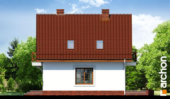 Elewacja boczna projekt dom w rododendronach 11 ver 2  265