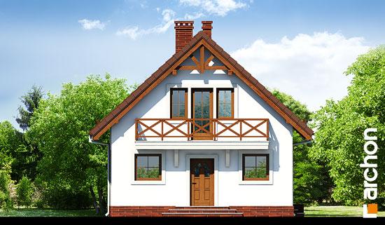 Elewacja frontowa projekt dom w rododendronach 11 ver 2  264