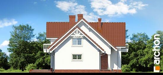 Elewacja boczna projekt dom w lobeliach ver 2  266