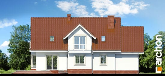 Elewacja ogrodowa projekt dom w lobeliach ver 2  267