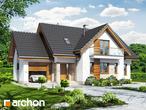 projekt Dom w lobeliach Stylizacja 3