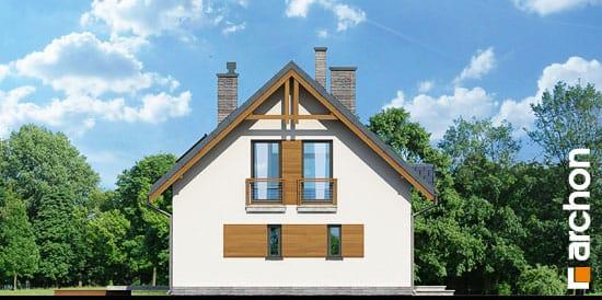 Elewacja boczna projekt dom w poziomkach 3 ver 2  266
