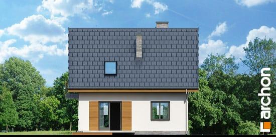 Elewacja ogrodowa projekt dom w poziomkach 3 ver 2  267