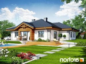 projekt Dom w jonagoldach lustrzane odbicie 2
