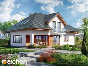 projekt Dom w kosodrzewinie