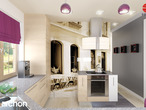 projekt Dom w bergamotkach (G2) Aranżacja kuchni 2 widok 1