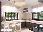 projekt Dom w bergamotkach (G2) Wizualizacja kuchni 1 widok 1