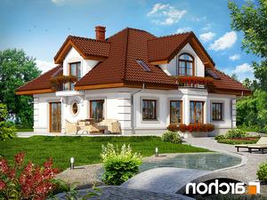 projekt Dom w bergamotkach (G2) lustrzane odbicie 2