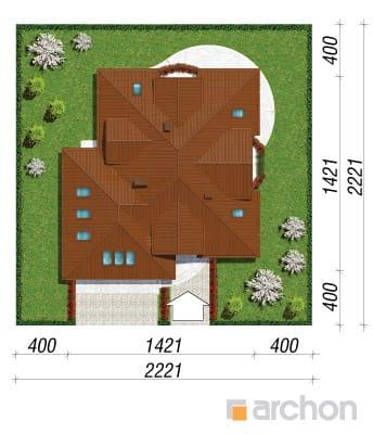 projekt Dom w bergamotkach (G2) sytuacja