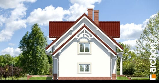 Elewacja boczna projekt dom w werbenach 2 ver 2  266