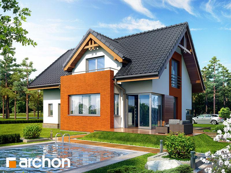 Projekt: Dom pod liczi ver.2 Wizualizacja widok 1