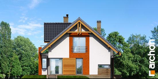 Elewacja boczna projekt dom pod liczi ver 2  266