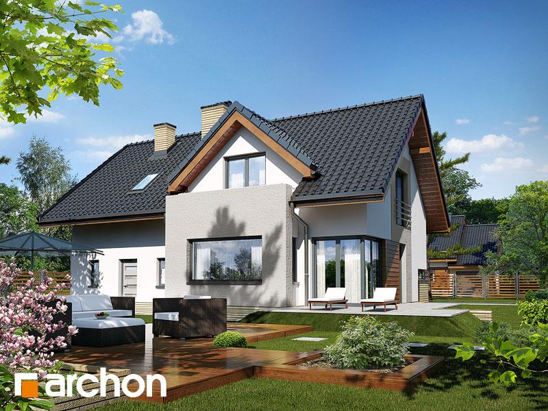 Projekt: Dom pod liczi (G2) ver.2 Wizualizacja widok 1