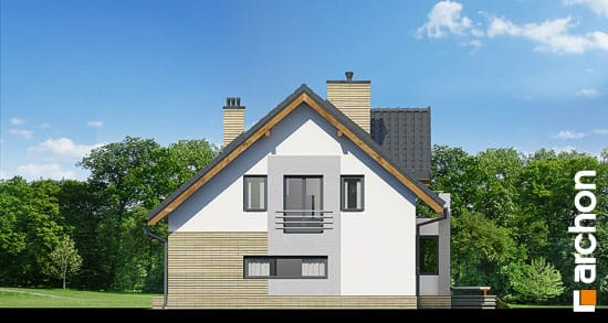 Elewacja boczna projekt dom pod liczi g2 ver 2  265