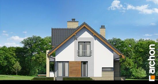 Elewacja boczna projekt dom pod liczi g2 ver 2  266