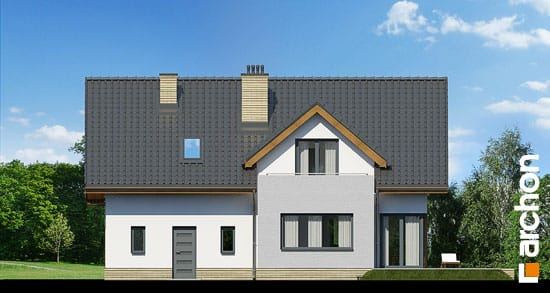 Elewacja ogrodowa projekt dom pod liczi g2 ver 2  267