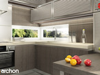 projekt Dom pod liczi (G2) Aranżacja kuchni 1 widok 2