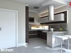projekt Dom pod liczi (G2) Aranżacja kuchni 2 widok 1