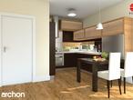 projekt Dom pod liczi (G2) Wizualizacja kuchni 1 widok 1