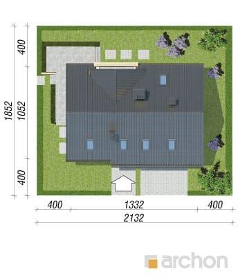projekt Dom pod liczi (G2) sytuacja