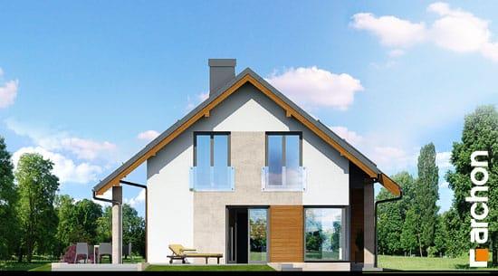 Elewacja boczna projekt dom w wisteriach ver 2  266